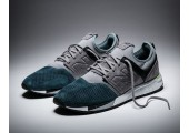 Кроссовки New Balance 247 Limited Edition Grey/Navy - Фото 4