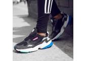 Кроссовки Adidas Falcon W Black/Carbon/Grey - Фото 5