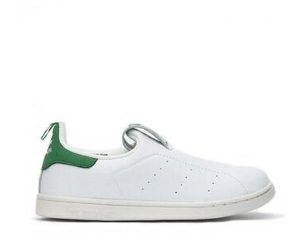Детские кроссовки Adidas Stan Smith White/Green