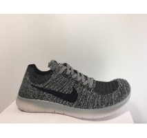 Кроссовки Nike Free Run Flyknit Grey Wind