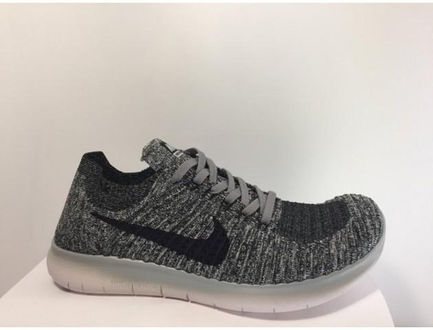 Кроссовки Nike Free Run Flyknit Grey Wind