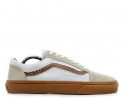 Кеды Vans Old Skool White/Coffe