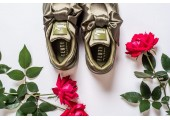 Кроссовки Puma х Rihanna Fenty Bow Sneaker Olive Branch - Фото 7
