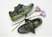 Кроссовки Puma х Rihanna Fenty Bow Sneaker Olive Branch - Фото 3