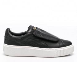Кроссовки Puma Basket Platform Black