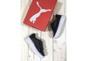 Кроссовки Puma Basket Platform Black - Фото 4