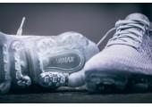 Кроссовки Nike WMNS Air Vapormax Flyknit Grey - Фото 3