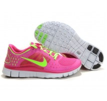 Кроссовки Nike Free Run Plus 3 Rose/Lemon