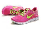 Кроссовки Nike Free Run Plus 3 Rose/Lemon - Фото 2