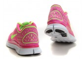Кроссовки Nike Free Run Plus 3 Rose/Lemon - Фото 3