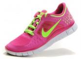 Кроссовки Nike Free Run Plus 3 Rose/Lemon - Фото 5