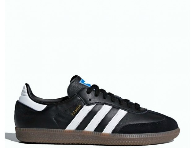 Кроссовки Adidas Samba OG Core Black/Cloud White/Gum