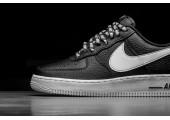 Кроссовки Nike Air Force 1 Low NBA Black/White - Фото 2