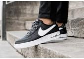 Кроссовки Nike Air Force 1 Low NBA Black/White - Фото 5