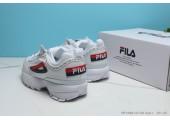 Кроссовки Fila Disruptor 2 White/Red/Black - Фото 6