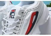 Кроссовки Fila Disruptor 2 White/Red/Black - Фото 2