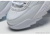 Кроссовки Fila Disruptor 2 White/Red/Black - Фото 3