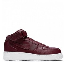 Кроссовки Nike Air Force 1 High PRM Maroon
