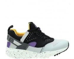 Кроссовки Nike Air Huarache Utility Grey/Yellow