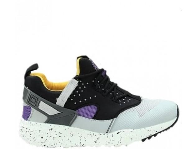 Кроссовки Nike Air Huarache Utility Grey/Yellow