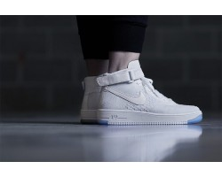 "Кроссовки Nike Air Force 1 Ultra Flyknit Mid ""White"""