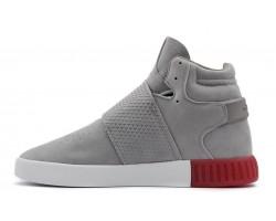 Кроссовки Adidas Tubular Invader Strap Grey