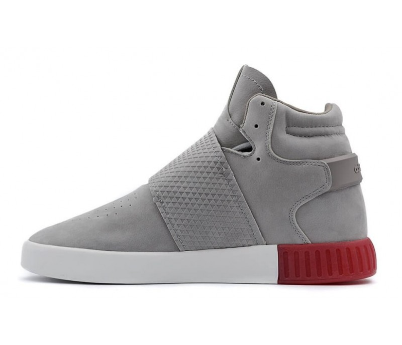online store 36f21 25260 Кроссовки Adidas Tubular Invader Strap Grey