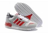 Кроссовки Adidas ZX700 Grey/Red/White - Фото 4