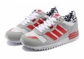 Кроссовки Adidas ZX700 Grey/Red/White - Фото 1
