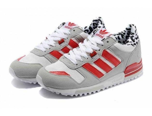 Кроссовки Adidas ZX700 Grey/Red/White