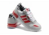 Кроссовки Adidas ZX700 Grey/Red/White - Фото 2