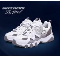 Кроссовки Skechers D'Lites 2 White/Charcoal/Grey