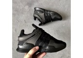 Кроссовки Adidas Equipment Support ADV All Black - Фото 6