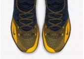 Баскетбольные кроссовки Nike KD 11 College Navy/University Gold - Фото 4
