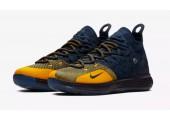 Баскетбольные кроссовки Nike KD 11 College Navy/University Gold - Фото 3