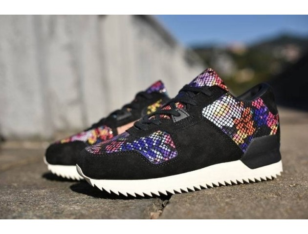 Adidas ZX700 Remastered Black Floral