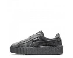 Кроссовки Puma x Rihanna Fenty Suede Creeper Velvet Grey