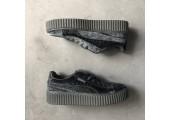 Кроссовки Puma x Rihanna Fenty Suede Creeper Velvet Grey - Фото 4