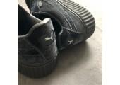 Кроссовки Puma x Rihanna Fenty Suede Creeper Velvet Grey - Фото 7