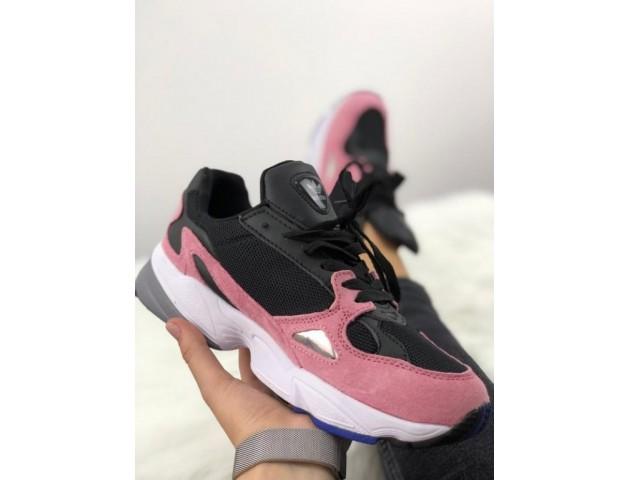 Кроссовки Adidas Falcon Dorf Pink/Black