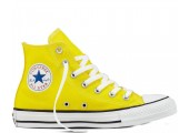 Кеды Converse All Star Chuck Taylor High Yellow - Фото 1