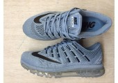 Кроссовки Nike Air Max 2016 Maxi Grey - Фото 2