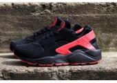 Кроссовки Nike Air Huarache Black/Red - Фото 4
