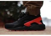 Кроссовки Nike Air Huarache Black/Red - Фото 3