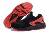 Кроссовки Nike Air Huarache Black/Red - Фото 2