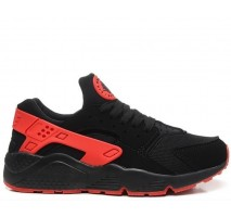 Кроссовки Nike Air Huarache Black/Red