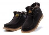 Ботинки Caterpillar Winter Boots Dark Brown - Фото 3