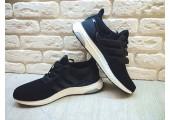 Кроссовки Adidas Ultra Boost Black - Фото 1