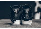 Кроссовки Nike Air Force 1 High LV8 Woven Black/White - Фото 2