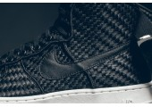 Кроссовки Nike Air Force 1 High LV8 Woven Black/White - Фото 4